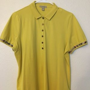 💯✅ Authentic Burberry Brit Womens Polo Shirt